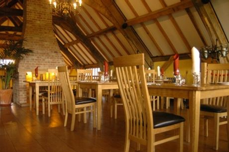 Three-Course Sunday Lunch for Up to Four at The Barn Restaurant