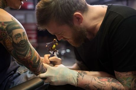 Wertgutschein über bis zu 150 € anrechenbar auf ein Tattoo bei Diamond Tattoos