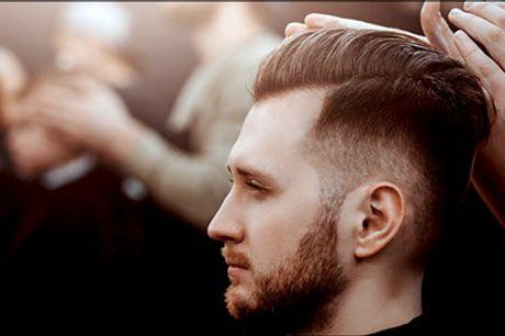 Få en lækker herreklip på Frederiksberg! - Køb en lækker herreklip inkl. vask, hårkur og hovedbundsmassage hos Hair & Care, værdi kr. 599,-