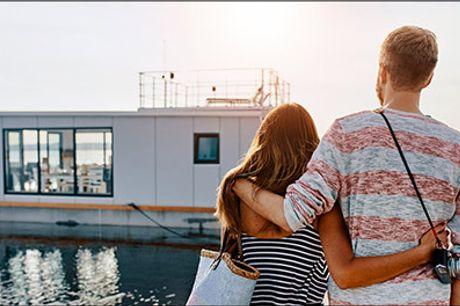Bo på vandet ved Flensborg Fjord - Kom på et helt unikt ophold helt tæt på vandet. 2 eller 3 nætter på WELL Hausboote for 2 voksne og 2 børn, værdi op til kr. 5545,-