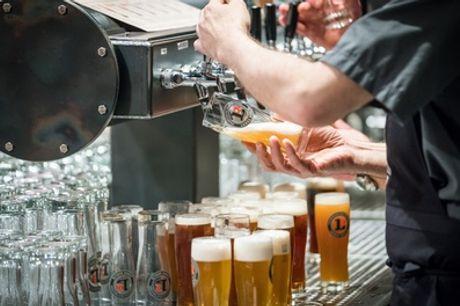 90 Min. Brauerei-Führung + Craft Beer Tasting für 1 bis 4 Personen im Brauhaus Lemke am Hackeschen Markt (31% sparen*)