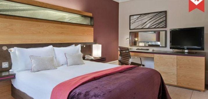 Edinburgh: Budget-, Deluxe- oder Superior-Doppelzimmer für Zwei mit Frühstück, opt. Dinner, im Edinburgh Grosvenor Hotel