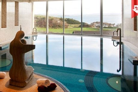 Co. Donegal: 2-3 Nights for Two with Breakfast, Bubbly and Spa and Afternoon Tea Credit at The 4* Shandon Hotel and Spa