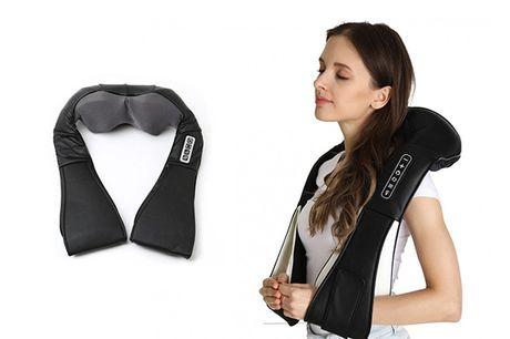 Med dette massageapparat slipper du for smerter i nakken, på ryggen og mange andre steder - inkl. fragt