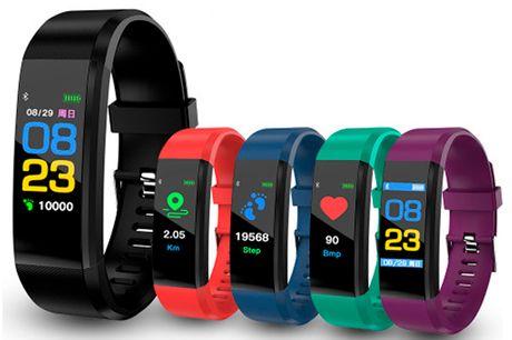 Smart aktivitetsarmbånd der måler din daglige aktivitet, nattesøvn og meget mere