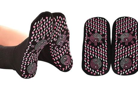 One, Two or Four Pairs of Self-Heating Therapy Socks