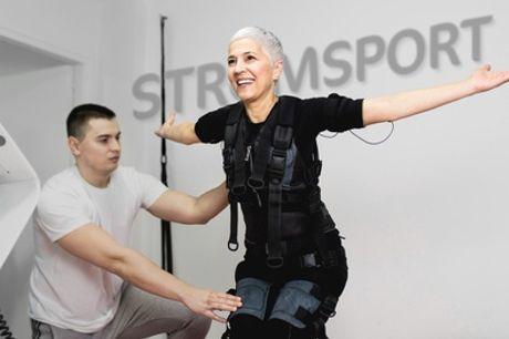 20 Min. EMS-Personal-Training (Cardio oder Kraft) inkl. Beratung, Körperanalyse & Leihbekleidung (bis zu 63% sparen*)