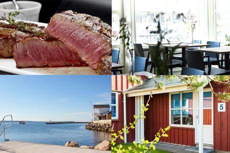Ophold på Kaløvig Badehotel, der bringer jer tæt på Aarhus, vandet og det gode humør - inkl. 3-retters menu og morgenmad