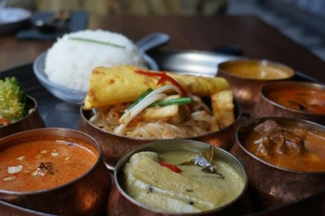 All-You-Can-Eat Sunday Brunch with a Drink or Free-Flowing Drinks for Two at Yum Sa Restaurant