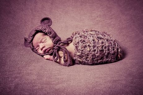 Newborn Photoshoot with Prints at Emotion Studios