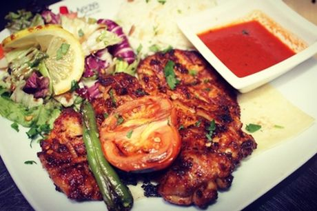 Two-Course Turkish Meal for Two or Four at Meze Turkish Bar and Grill