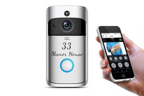 £37.99 instead of £175 for a personalised Wi-Fi smart doorbell from Magic Trend - save 78%