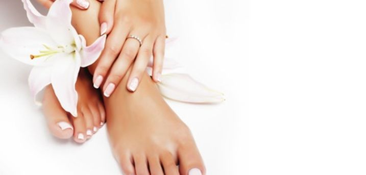 Shellac Mini Manicure or Pedicure or Both at DHD Hair and Beauty (Up to 63% Off)