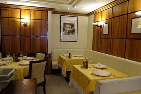 Entrée, plat et dessert pour 2 convives au restaurant A la Fregate, 12e
