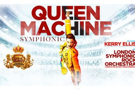 Queen Machine Symphonic featuring Kerry Ellis, 5 - 14th October 2021, Six Locations