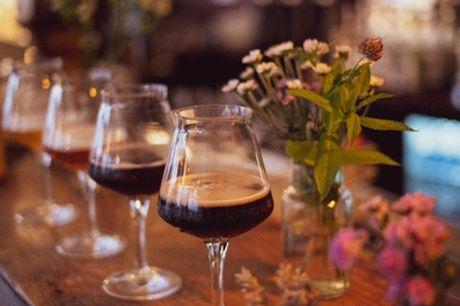 2,5 Std. Craft-Beer-Tasting inkl. Brot und Wasser für 1-4 Pers. bei Craft Beer Tasting NRW (bis zu 35% sparen*)