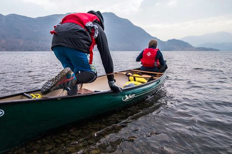 £19 for a two-hour canoeing, kayaking or paddleboarding session for two people at Mountain Monkeys, St Helens - save 63%