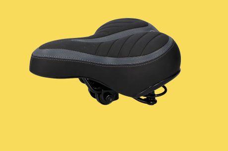 Comfortabel fietszadel Met gel vulling  Geschikt voor elke fiets  Eenvoudig te monteren