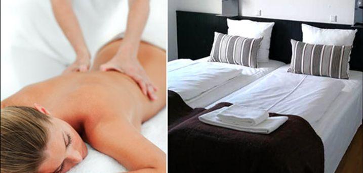 Lækkert wellnessophold for 2  - Wellnessophold for 2  inkl. 1 overnatning i luksusværelse, middag på Bones, kropsmassage, let forfriskning, vin på værelset samt morgenmad. Værdi kr. 2995,-