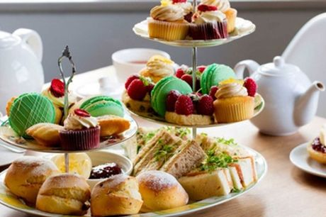 Afternoon Tea with Optional Prosecco for Two or Four at The Village Tearoom