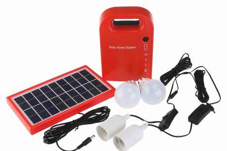 Solar Panel Power Generator