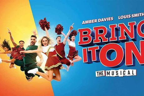 Bring It On The Musical at Queen Elizabeth Hall. The smash-hit Broadway cheerleading musical backflips into the UK, starring Love Island's Amber Davies and Olympic gymnast Louis Smith