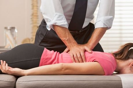 Chiropractic Consultation with Up to Three Treatments at Camden Chiropractic