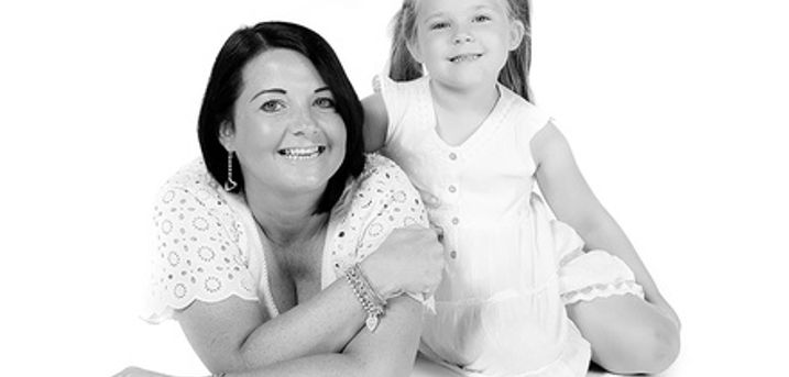 Mother and Daughter Photoshoot With Refreshments and Prints at Memories Portrait Photographers