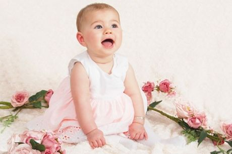 Baby's First Year Photoshoot with a Framed Print at Sculpher Photography