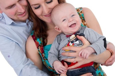 Family Photoshoot with Prints at Focussed on Photography