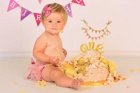 Smash the Cake Birthday Photoshoot with Prints at CS Photo Studio