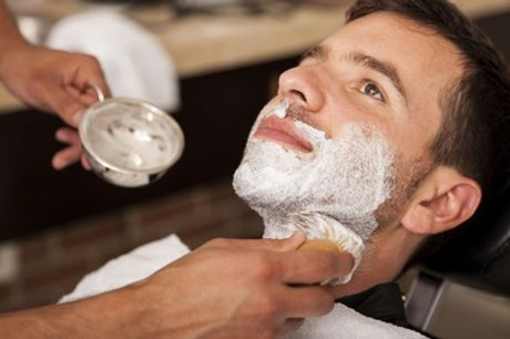 Hot Towel Shave with Men's Cut and Finish or Massage and Facial at Gilroy's Gentleman's Barber
