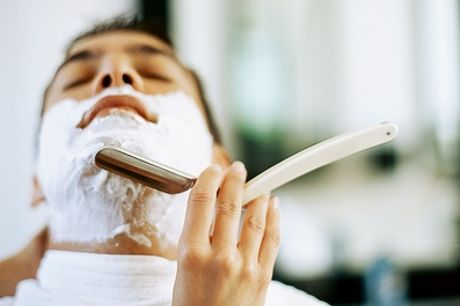 Gents' Cut and Finish with Hot-Towel Shave at Gilroy's Gentleman's Barber