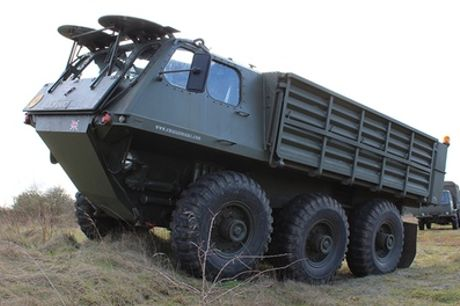 Military Stalwart 6x6 Off-Road Passenger Ride from Challenger