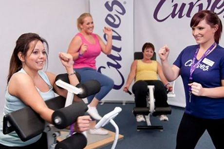 Five Gym Passes for One or Two at Curves Wokingham