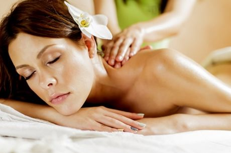 Head, neck and shoulder massage, with Elemis Taster Facial at Armonia Health & Beauty, Hatfield