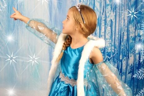 Ice Princess Themed Photoshoot With Print at Future Earth Photography