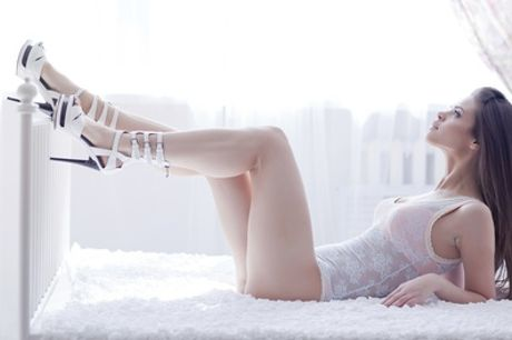 Boudoir Photoshoot with a Makeover and Two A4 Prints with Future Earth Photography