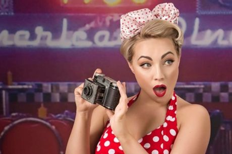 One-Hour 50s Pin-Up or Boudoir Photoshoot at Colin Charles Photography