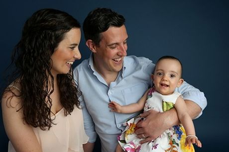 a Christmas Family Photoshoot with Prints, Christmas Cards, Minced Pie and Hot Drinks at Hallmark Photography