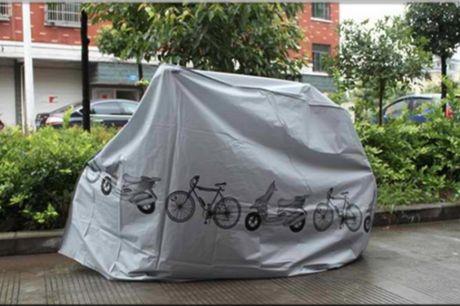 Et beskyttende dækken til Cyklen eller Scooteren som er nem at folde sammen og folde ud.