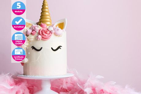 £9 instead of £99 (from Trendimi) for a sophisticated baking and cake design course - save 91%