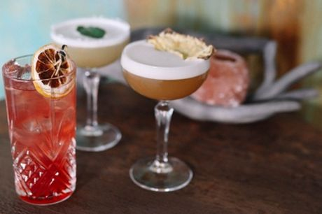 To Share: Three Cocktails for Two or Six Cocktails for Four at Sandy's Piano and Wine Bar
