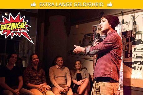 Comedyshow naar keuze bij Bazinga Comedy Club