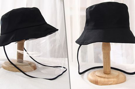 Full-Face Cover & Hat     Waterproof and dustproof design means it is great for wearing outdoors     Transparent scope with wide-view design     Adjustable hat can be worn by adults and children     Detachable cover can be taken off whenever you like.