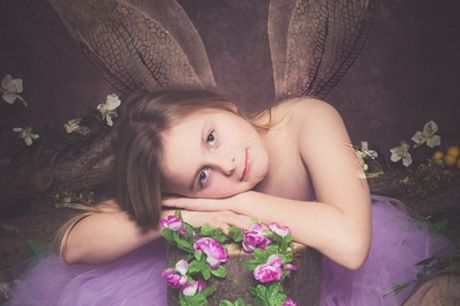 Fairies or Fisherman Photoshoot with Framed Print at Northumbrian Photography