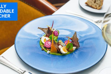 £83 -- Michelin-starred meal & champagne for 2 in London