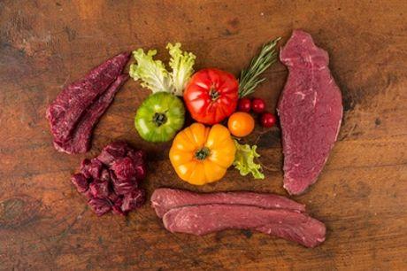 """Vorratspaket """"Fitness Box"""" mit vier verschiedenen Fleischsorten von Büffel Bill Deutschland (bis zu 31% sparen*)"""