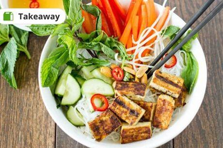 Veganes vietnamesisches 3-Gänge-Menü für bis zu 6 Personen im Com-Nam Restaurant (bis zu 39% sparen*)