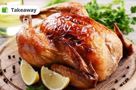 Gegrilltes ganzes Hähnchen inkl. Pommes frites und Reis im Felfela Restaurant (bis zu 39% sparen*)